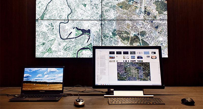 Классический вариант графического интерфейса в стиле Windows с использование клавиатуры и мыши