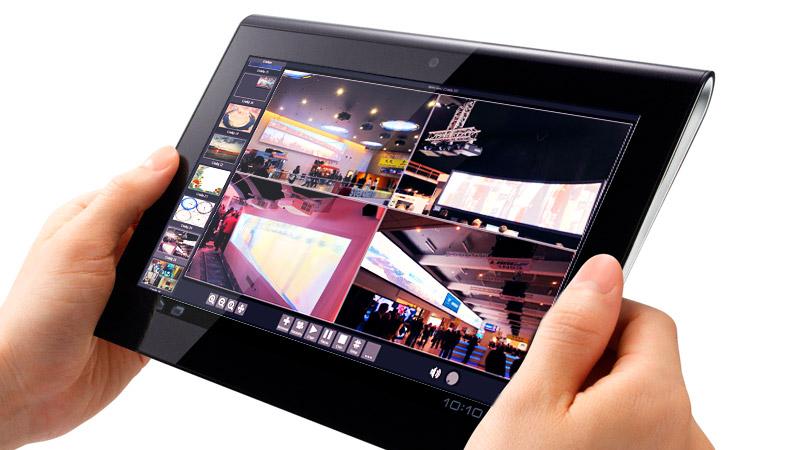 Вариант графического интерфейса для планшетов или смартфонов